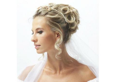 Свадебные прически.Свадебный макияж.Выезд визажист