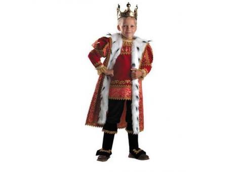 Костюм Короля для мальчика напрокат
