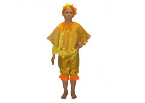 Детский костюм солнце (прокат)