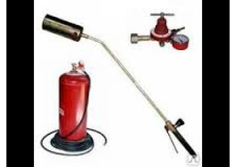 Прокат газовой горелки для кровельных работ