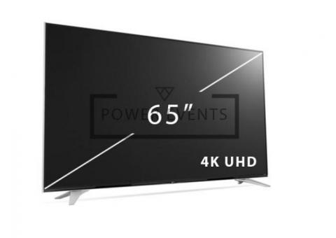 Сдам в аренду 4K LED Телевизор 65 дюймов UHD Компания POWER EVENTS