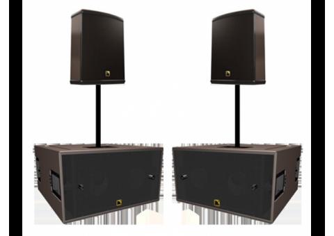 Аренда Комплект звука 3,6квт. L-acoustics SB-118, 115XT Hiq