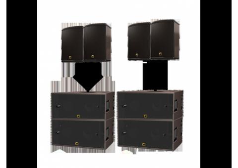 Аренда Комплект звука 7,2квт. L-acoustics SB-118, 115XT Hiq