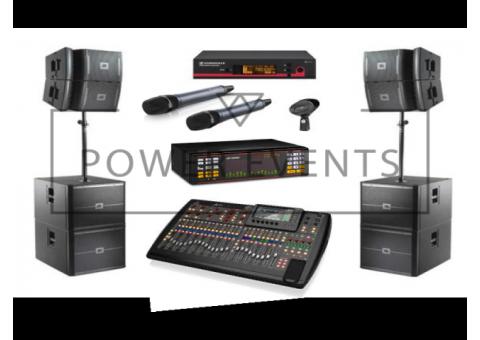 Караоке-система AST-100, AST-250 с микшером и акустическими колонками