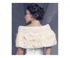 Норковая накидка напрокат для невесты