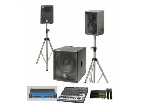 Звук и свет для вашего праздника. Видеопроекторы.