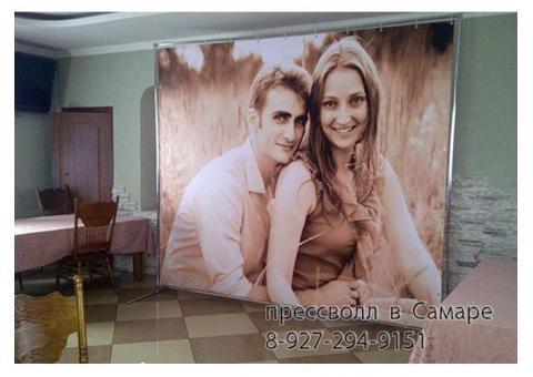 Прессволл,Баннер на свадьбу,Бренд Волл