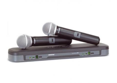 Аренда беспроводных микрофонов SHURE
