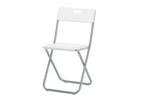 Прокат белых стульев для мероприятий