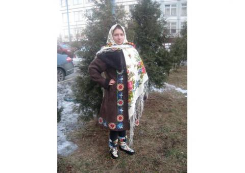 Русский Народный Женский Зимний Костюм