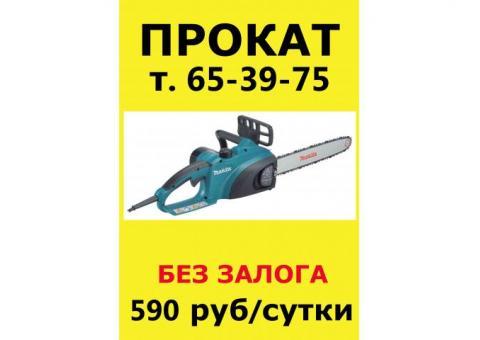 прокат, аренда электропила, электропилы