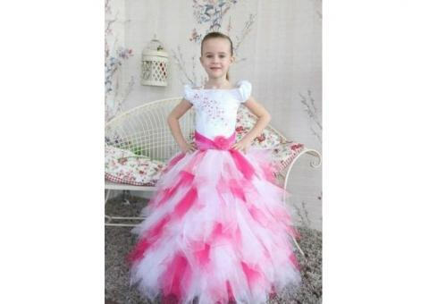 Детские нарядные платья на прокат