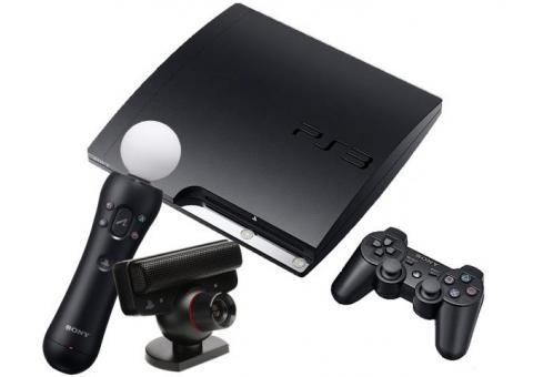 PlayStation3 с moveкамерой в аренду