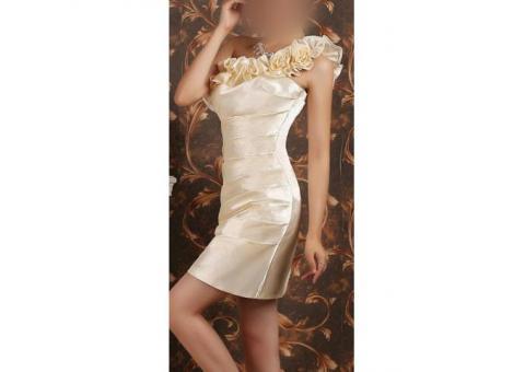 Свадебное, коктейльное платье