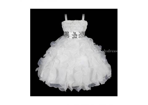 Детское платье для свадебных приемов.