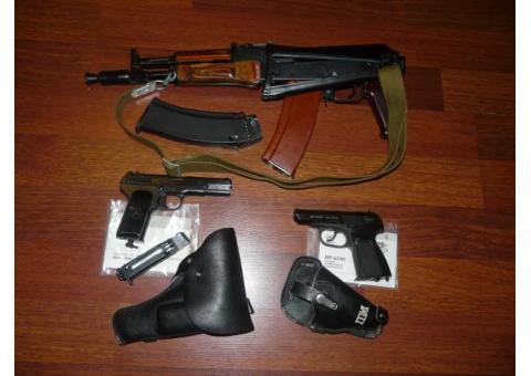 Прокат пневматического оружия