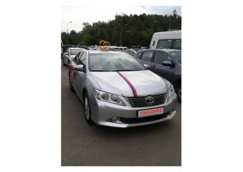 Автомобиль на свадьбу (новая Toyota Camry)