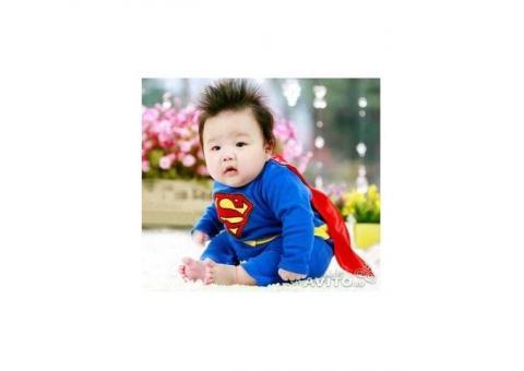 новогодний костюм супермен