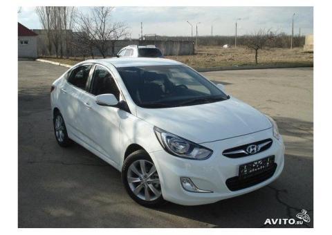 Авто в аренду Hyundai Solaris 1.4 мт
