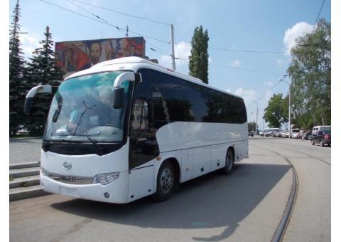 Комфортабельные автобусы в аренду Уфа