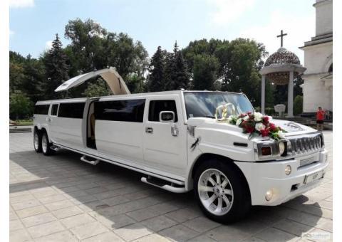 Аренда авто на свадьбу, Свадебные машины и лимузины напрокат, Заказ автобуса