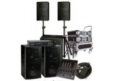 Профессиональный комплект звукового оборудования