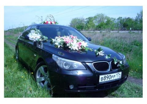 Прокат авто BMW 525 на свадьбу