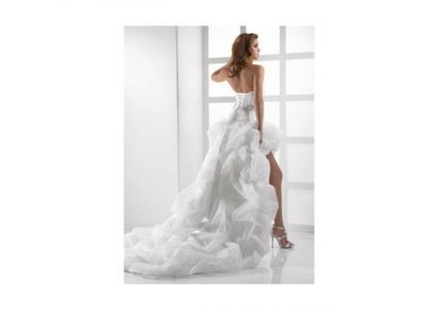 Оригинальное свадебное платье на прокат