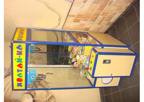 Автомат кран-машина(поймай игрушку)на праздник